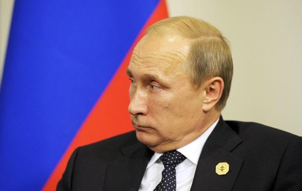 Путін назвав реакцію Заходу на входження Криму до складу Росії неадекватною