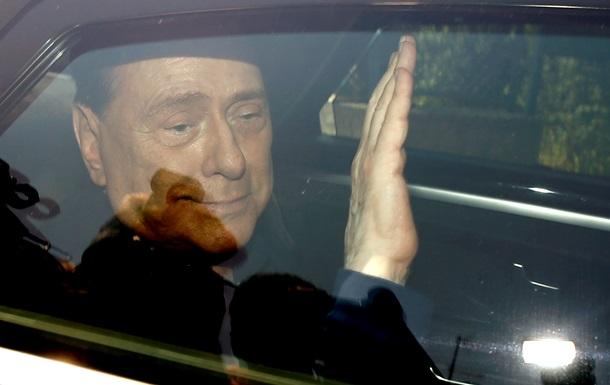 Берлусконі госпіталізований в міланську лікарню