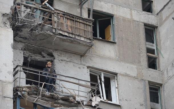 За выходные в Донецке погиб мирный житель, еще восемь ранены