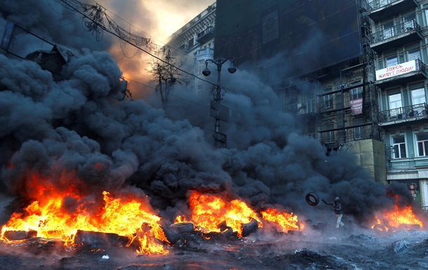 Годовщина Евромайдана - фото