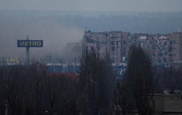 При ночных обстрелах Донецка разрушены три дома