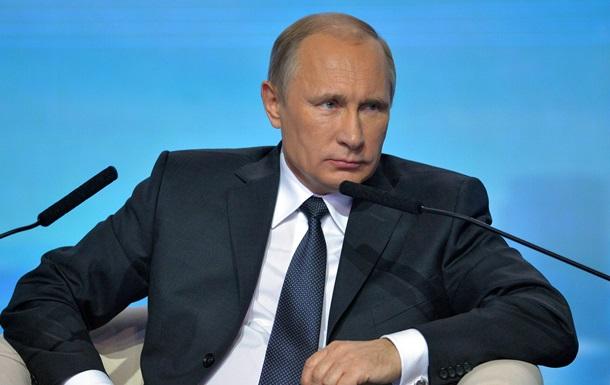 Путін закликав не допустити  кольорових революцій  у Росії