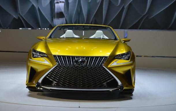 У Лос-Анджелесі представлений довгоочікуваний кабріолет від Lexus