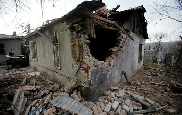 У Донецькій області розгромлене селище Красний Пахар