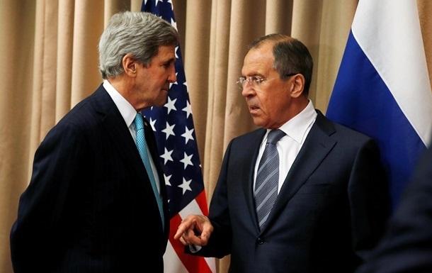Лавров и Керри обсудили конфликт на Донбассе