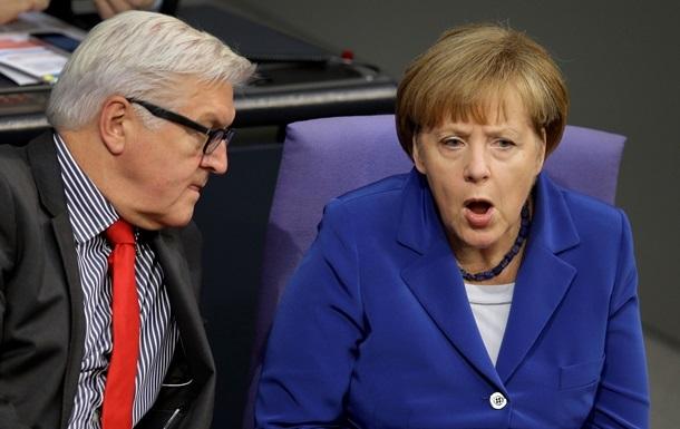 Уряд Німеччини спростував чутки про розбіжності у поглядах щодо України