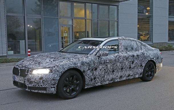 В інтернеті з явилися перші шпигунські фото нового BMW 7