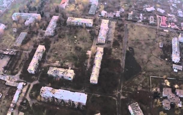 Сепаратисти виклали в мережу розвіддані з безпілотника над Пісками