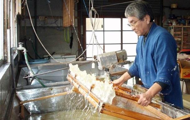 Японская бумага  васи  включена в список наследия ЮНЕСКО