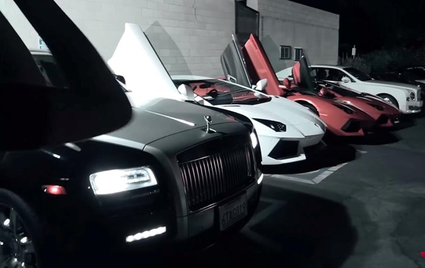 Китайські підлітки у Каліфорнії їздять на найдорожчих автомобілях у світі