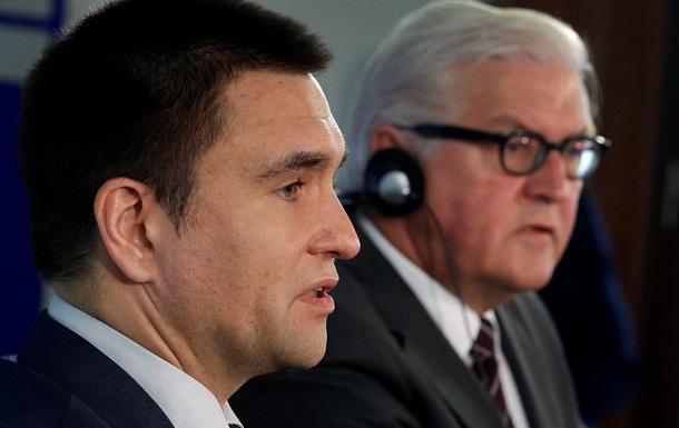 Клімкін закликав Берлін прискорити допомогу Україні