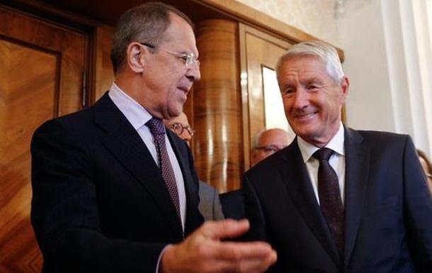 Лавров хоче, щоб Рада Європи моніторила всю Україну