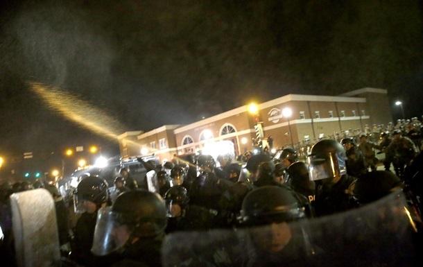 Фергюсон: 15 человек арестованы во время акции протеста