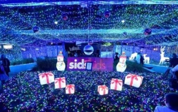 Рождественская световая инсталляция в Канберре установила рекорд Гиннеса