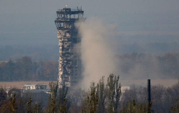 В зоні АТО триває битва за Донецький аеропорт