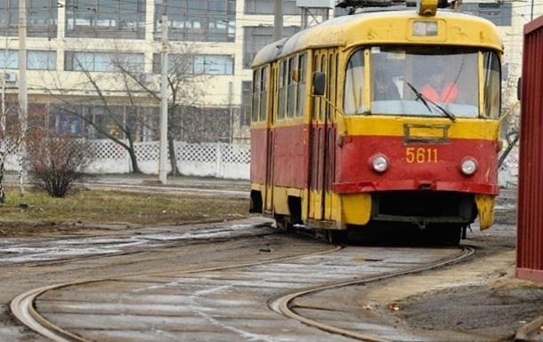 В Харькове обесточены трамваи и троллейбусы