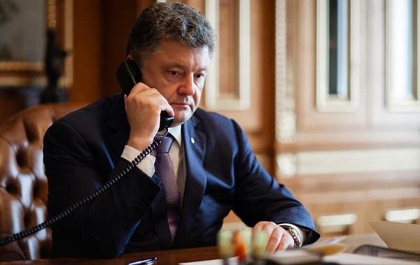 Порошенко обговорив з Меркель ситуацію на Донбасі