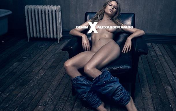 Alexander Wang  запустил провокационную рекламу джинсов