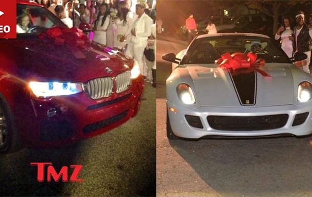 Американский рэпер подарил на 16-летие дочери Ferrari 599 GTO и BMW X4