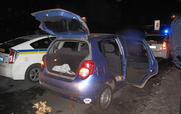 У киевского водителя гаишники нашли в машине четыре гранатомета