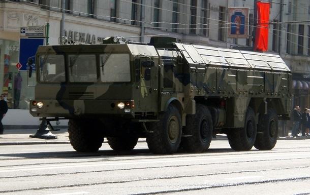 Россия разместила в Крыму ракетную систему  Искандер