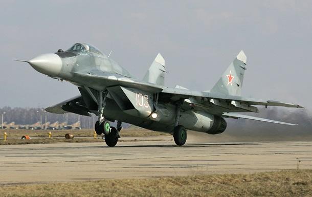 Под Москвой разбился истребитель МиГ-29