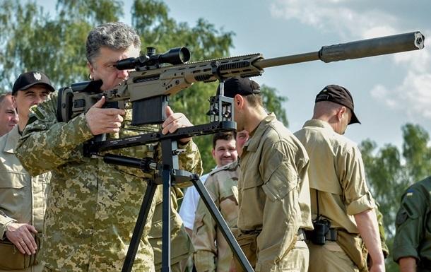 Порошенко відзначить День Збройних сил України у зоні АТО