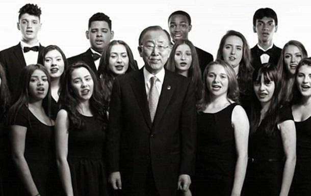 ЮНИСЕФ начал мировой флеш-моб в поддержку детей Украины