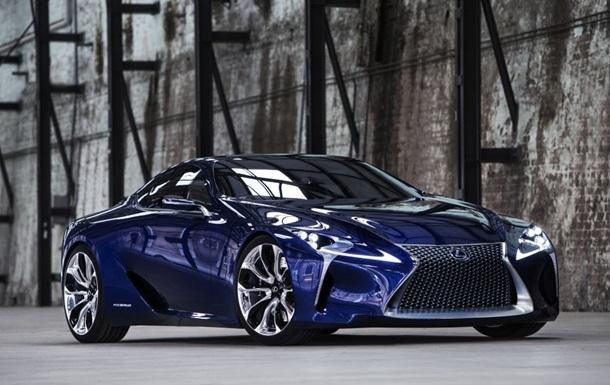 Lexus выбрала имя для нового спорткара