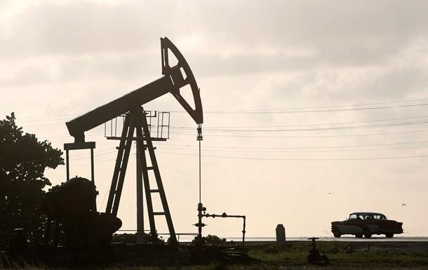 Цена на нефть установила пятилетний рекорд падения