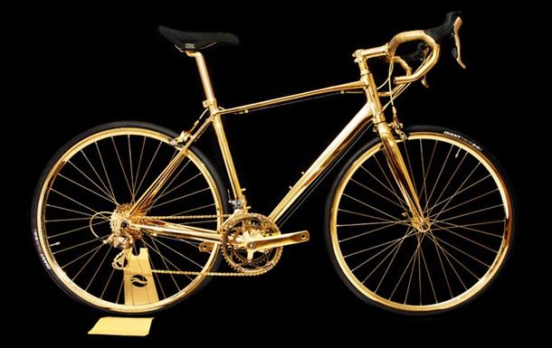 В Британии изготовили золотой велосипед за 400 тысяч долларов