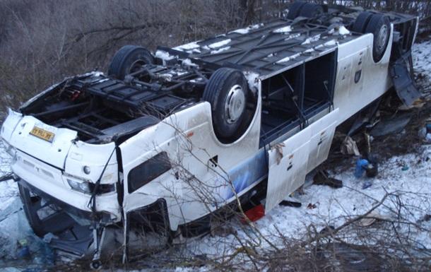 У Росії перекинувся український автобус, є постраждалі
