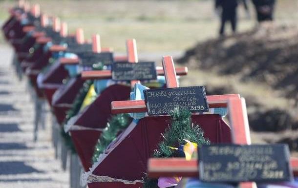 Администрация Президента Украины создает военное кладбище на 250 тысяч могил?
