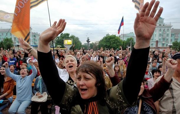 На Луганщине задержана глава райсовета, организовавшая  референдум  в мае