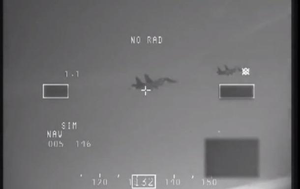 НАТО опублікувало відео перехоплення російських винищувачів