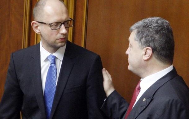 Порошенко воспитает Яценюка «кнутом» и «морковкой»