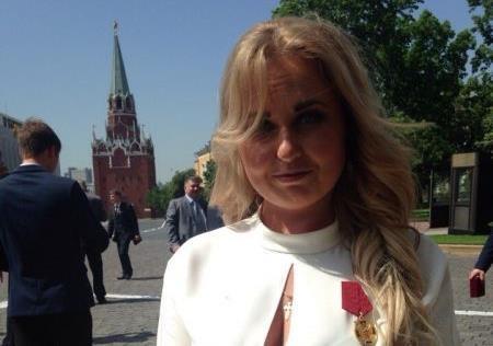 «Орденована» Росією журналістка «LIFENEWS» приїхала у Вінницю Майдан паплюжити