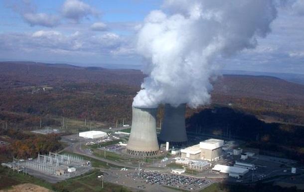На американской АЭС отключили реактор из-за утечки воды