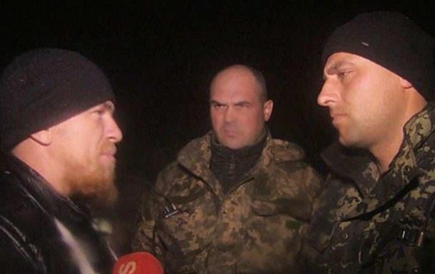 Бойцы ВСУ требуют уволить капитана, встретившегося с Моторолой
