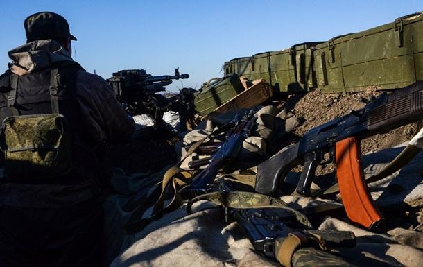 Сепаратисти за день 4 рази порушили режим тиші - штаб АТО