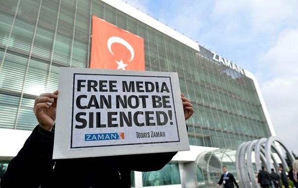 Эрдоган начал наступление на критикующие правительство СМИ
