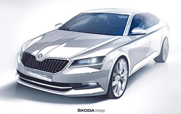 Skoda представила тизер нового поколения своей модели