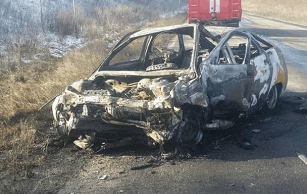 У ДТП в Луганській області загинули семеро людей
