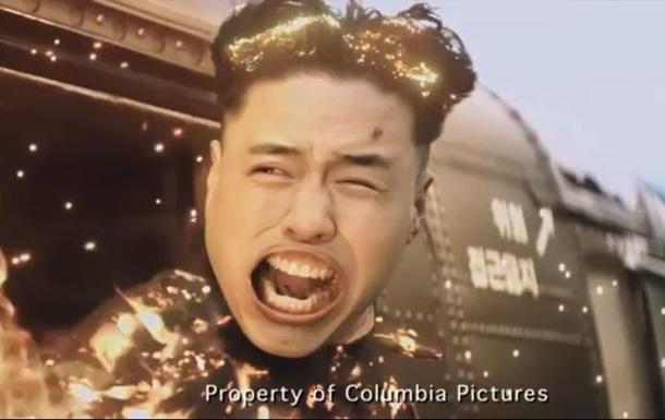 В сеть выложили сцену смерти Ким Чен Уна из фильма Интервью