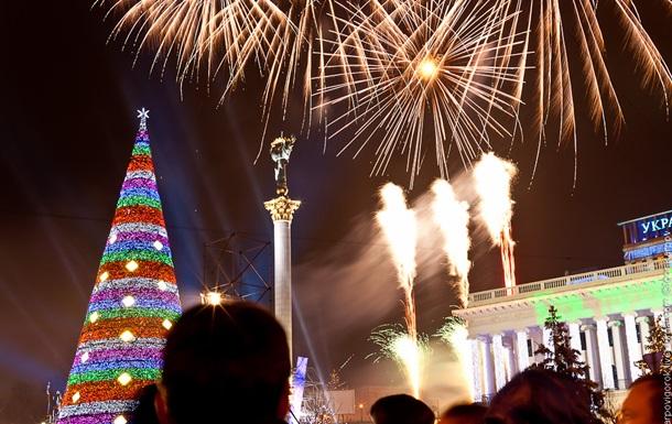 В Киеве отменен традиционный новогодний фейерверк