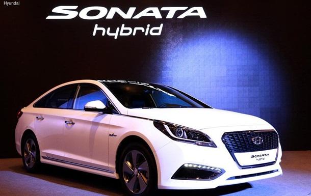 Hyundai представила гибридный седан нового поколения