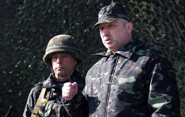 Турчинов хоче створити одну з найпотужніших армій в Європі