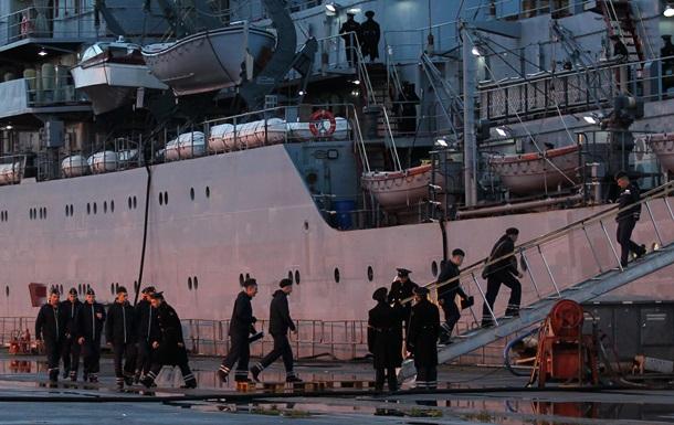 Російський екіпаж Містраля залишає Францію