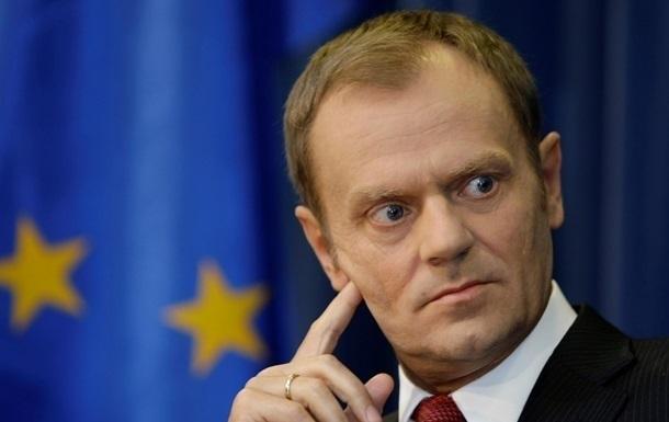 Туск вимагає  чіткого сигналу  від ЄС на підтримку України