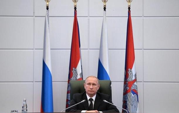 Путін: Розвиток ядерних сил у пріоритеті